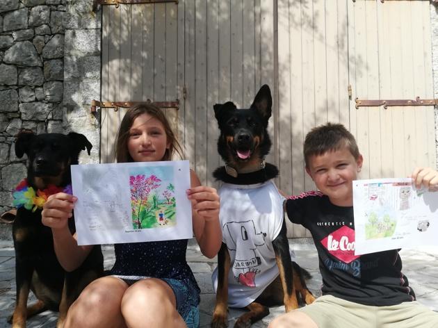 Darwin Forever : l'association lancée par 2 enfants pour aider les animaux de refuge (Interview)