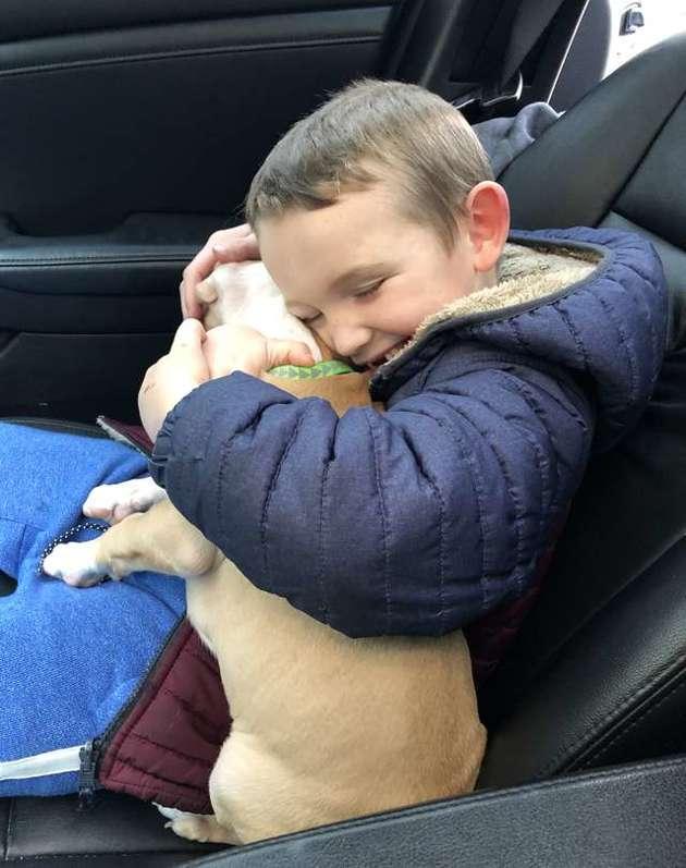 Cet enfant a eu la plus belle des surprises après le décès de son chien (Vidéo)