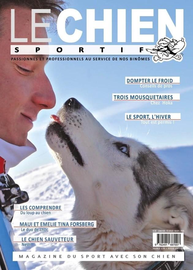 Le Chien Sportif : le 1er magazine dédié à la pratique du sport avec son chien !