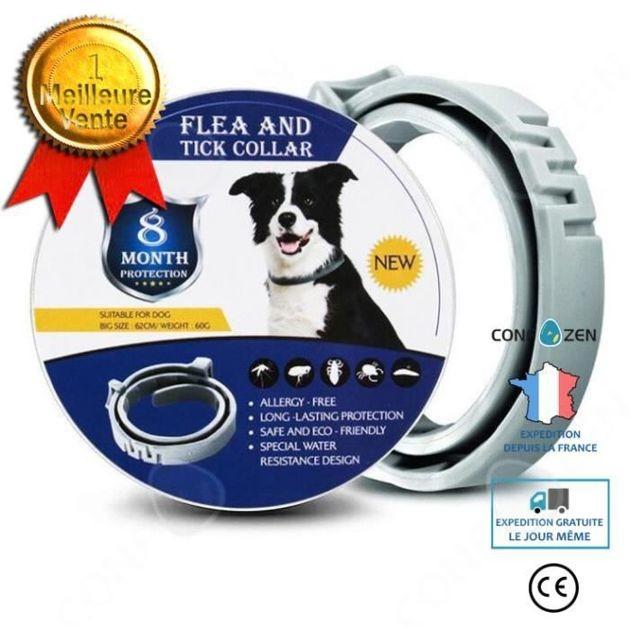 66% de réduction : le collier anti-puce pour chien Confo