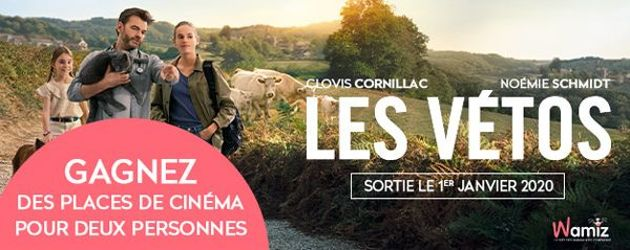 Les vétos : Clovis Cornillac vétérinaire au grand cœur au cinéma !