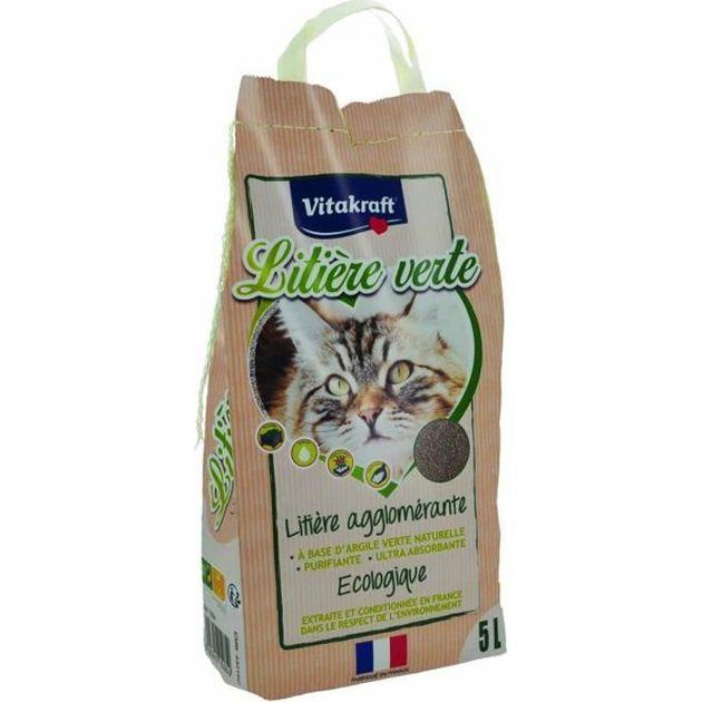 Notre sélection de litières pour chat écologiques à petit prix