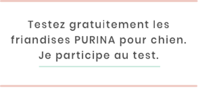 Bouton de participation au test