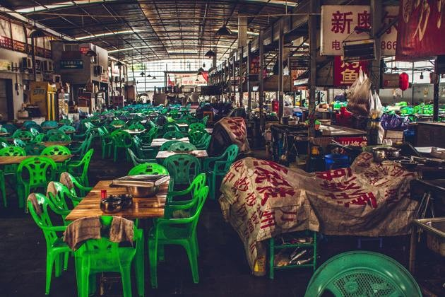 Marché chinois