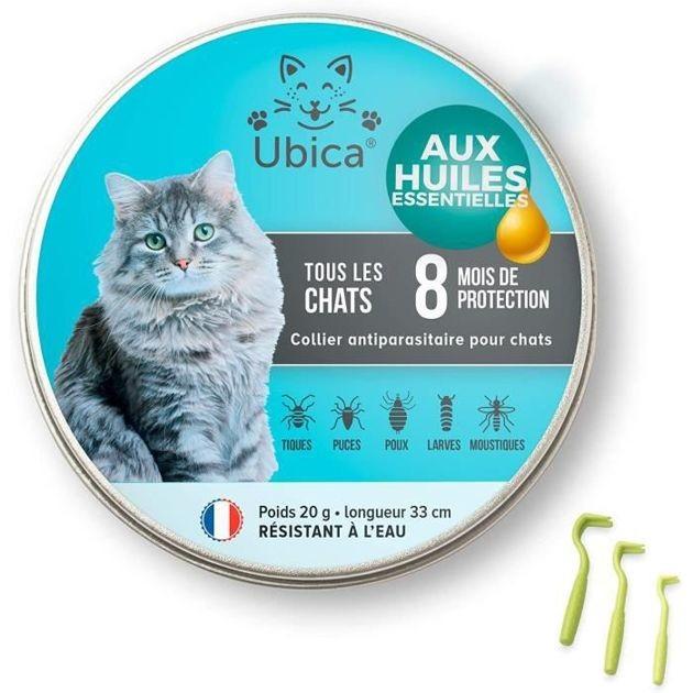 -50% : Le collier anti-puce et anti-tiques pour chat Seresto