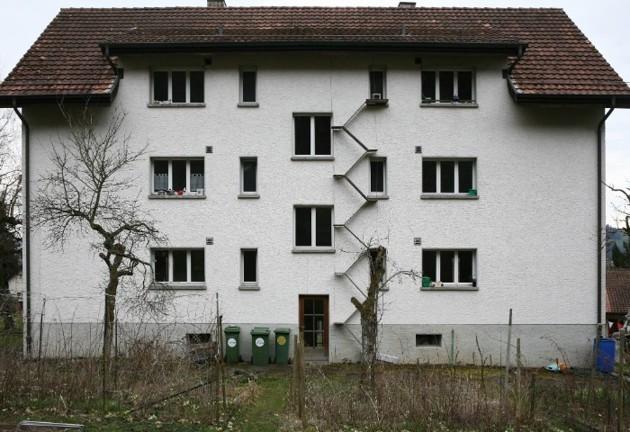 En Suisse, cette photographe immortalise les échelles destinées aux chats !