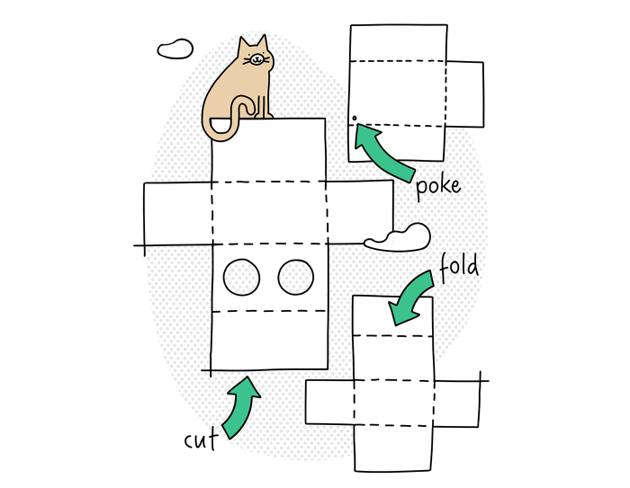 Pour limiter les déchets, Amazon sort un tutoriel pour transformer leurs cartons en arbre à chat !