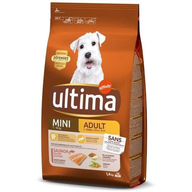 Notre sélection de croquettes pour petits chiens adultes à moins de 50 euros