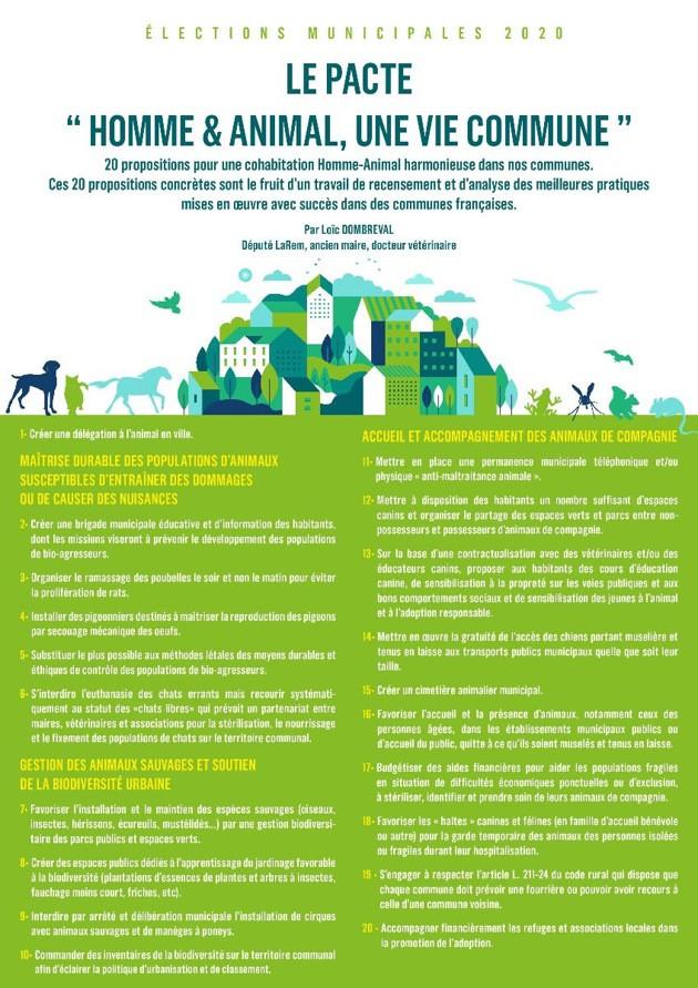 Municipales 2020 : Loïc Dombreval propose un Pacte