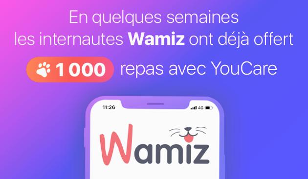 1000 repas offerts à des animaux de refuge grâce à la communauté de Wamiz !