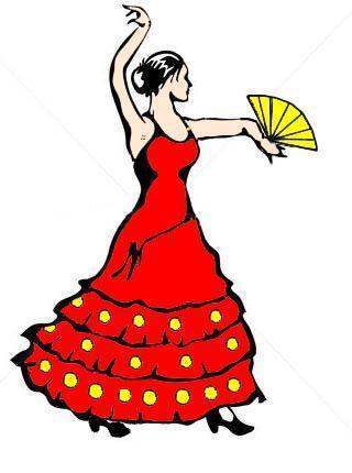 Du c t de chez nous on papote entre amie forum bla - Dessin danseuse de flamenco ...