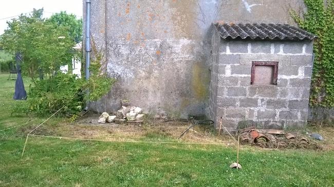 Mes lapin a l 39 ext rieur enclos ext rieur fait maisons for Cabane pour lapin exterieur
