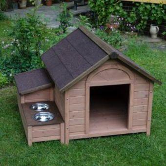 Construction d 39 une niche pour chien de taille moyenne - Comment construire une niche pour chien gratuit ...