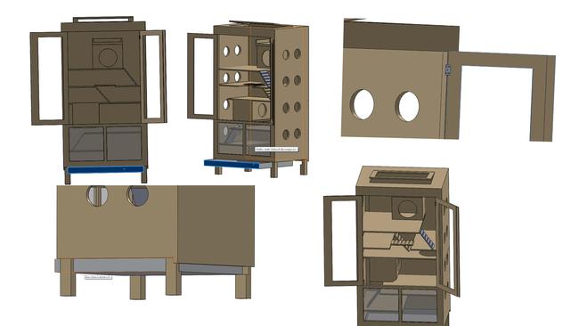 Construire sa propre cage pour chinchilla et furet forum for Construire mes propres plans de maison