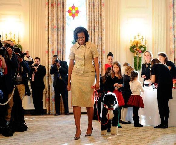 Bo Obama, star de Noël de la Maison Blanche