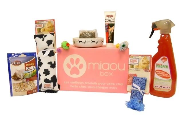 miaoubox coffret cadeau pour chat