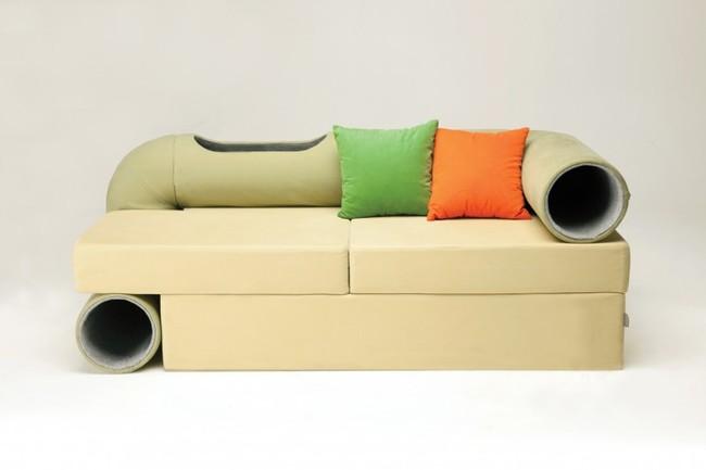 un canap de r ve pour les chats et pour leurs propri taires conso wamiz. Black Bedroom Furniture Sets. Home Design Ideas