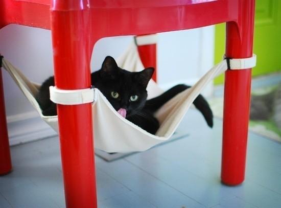 Cat Crib : un hamac pratique et design pour le plus heureux des chats