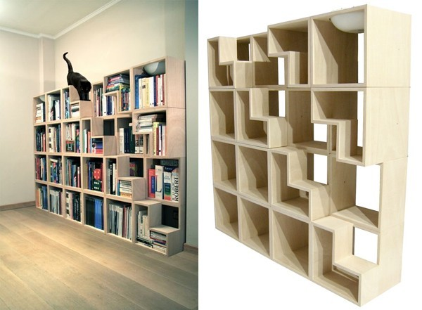 quand la biblioth que se fait aussi arbre chat nuage ciel d 39 azur. Black Bedroom Furniture Sets. Home Design Ideas