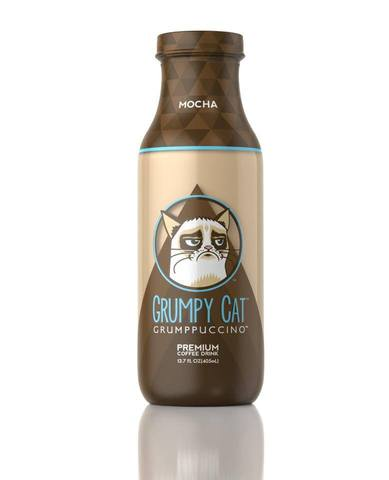 Grumppuccino, le café glacé de Grumpy Cat