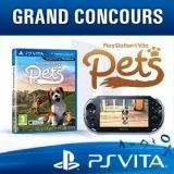 Concours : avez-vous gagné une PlayStation® Vita et un jeu PlayStation® Vita Pets ?
