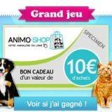 500 euros de bons d'achat Animo-shop à gagner !