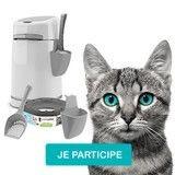 La solution aux corvées de litière : la poubelle hygiénique pour chat LitterLocker !