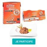 Testez le MENU Turkey+Salmon pour chien de Platinum !