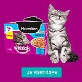 Testez la nouveauté Marmiton de Whiskas® pour chat !