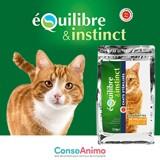 Testez les croquettes pour chat stérilisé Équilibre & Instinct