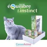 Testez le Pack Découverte de la Bi-Nutrition Équilibre & Instinct avec votre chat