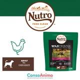 Testez les croquettes Nutro Wild Frontier riches en dinde et poulet avec votre chien
