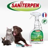 Testez le Destructeur d'Odeurs Saniterpen avec votre animal