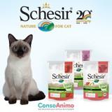 Testez les sachets Schesir Humide BIO avec votre chat