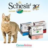 Testez les boîtes Schesir Humide avec votre chat