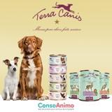 Testez les boîtes Terra Canis Grain Free ou Terra Canis MINIS avec votre chien