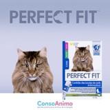Testez le Contrôle de Boules de Poils PERFECT FIT avec votre chat