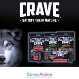 Testez les récompenses riches en protéines et sans céréales CRAVE™ avec votre chien