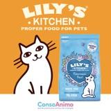 Testez les croquettes Lily's Kitchen au saumon et poisson blanc avec votre chat !