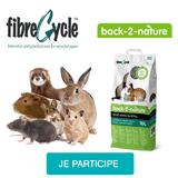 Testez la litière en papier Back-2-Nature avec votre NAC