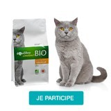 Testez les croquettes à la volaille bio Équilibre & Instinct avec votre chat
