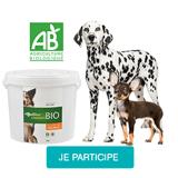 Testez les croquettes Équilibre & Instinct BIO avec votre chien