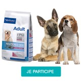 Testez les croquettes Veterinary HPM Adult Neutered Medium & Large avec votre chien