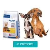 Testez gratuitement les croquettes Veterinary HPM Small & Toy avec votre chien
