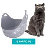 Testez le bac à litière LitterBox avec votre chat