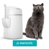 Testez la poubelle à litière LitterLocker Design avec votre chat