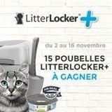 Concours LitterLocker+ : avez-vous gagné une poubelle pour votre chat ?