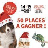 Concours : Gagnez vos places pour le Paris Animal Show, le salon de l'animal de compagnie !