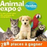 Concours : 200 places à gagner pour le salon Animal Expo !