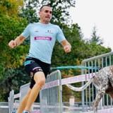 Antony Le Moigne établit le record du monde de vitesse du 1000m en canicross !